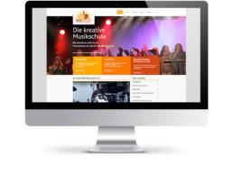 Webdesign Köln - Webseitenerstellung für Musicfactory Köln