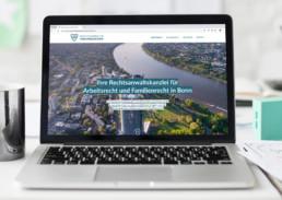 Responsive Webdesign für Rechtsanwaltskanzlei von Preuschen