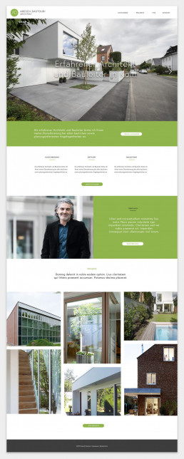 Webdesign Köln - Webdesign Architekt Aresch Dastouri